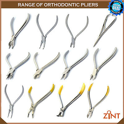 Surgical Range Of Dental Wire Bending Weingart Utility Pliers Laboratory Pliers