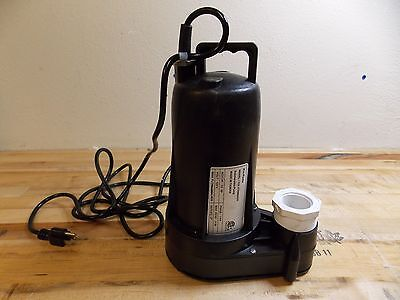 "NuLine Submersible Sump and Sewage Pump 1/2 HP 2"" Outlet Model #62436977"