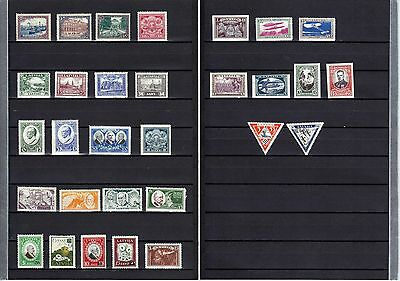 Latvia 1925 - 1933  30  Better Stamps  Mlh *  High  Catal Value !