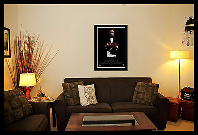 The Godfather Movie Wall Art Poster Picture Print A3,a4 , Framed Or Unframed