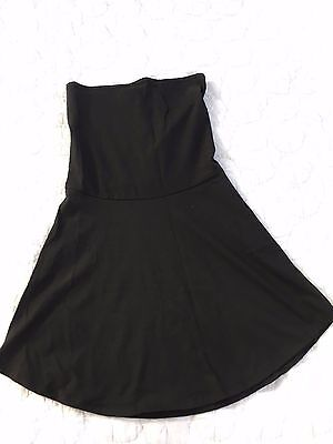 Ingrid and Isabel Womens Maternity Size 2 Medium Black stretch skirt fits 8-12