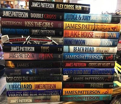Lot Of 25 James Patterson Hardcovers