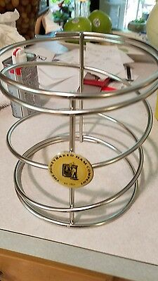 The Honey Baked Ham Company Metal Spiral Wire Ham Holder Stand Rack Logo
