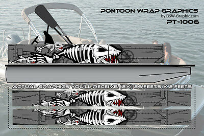 **NEW** Hunting  DIY WRAPPING Pontoon wrap graphics kit decal stickers PT-1006