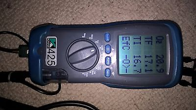kane 425 combustion gas analyser (CALIBRATED) UP TO DATE !