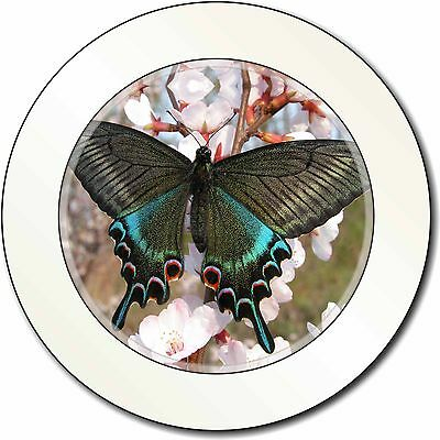 Advanta Group Black and Blue Butterfly Car//Van Permit Holder//Tax Disc Gift