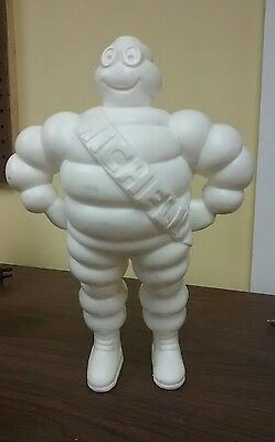 Vintage 1981 Michelin Man Plastic Figure Made in France 12 inches  Bibendum