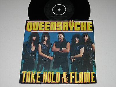 "Queensryche - Take Hold Of The Flame (Rare EMI Heavy Metal 7"" Vinyl - 1984)"
