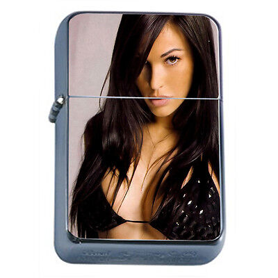 Italian Pin Up Girls D5 Windproof Dual Flame Torch Lighter Refillable