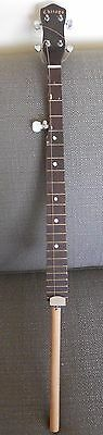 """Rare vintage (40's or 50's?) Chicago Weather King Banjo Neck..37"""" long, w/pegs"""