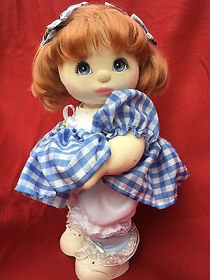 DOLL IS NOT INCLUDED! Puffy Dress, Knickers, Socks, Cabbage Patch Kid Shoes Only