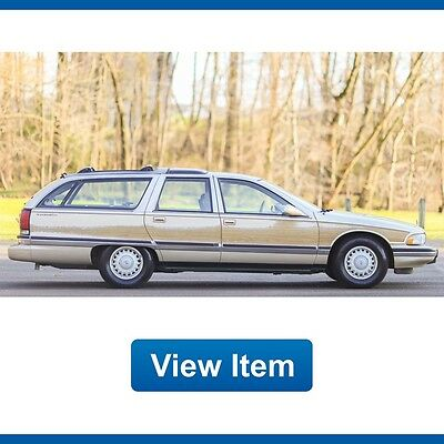 1996 Buick Roadmaster Estate Wagon Collector's Edition Wagon 4-Door 1996 Buick Roadmaster Wagon 1 Owner 3rd Row Seat Florida CARFAX!