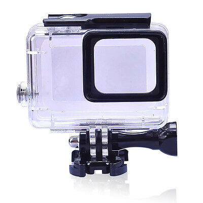 Waterproof Dive Protective Housing Case for GoPro HERO 5 6 7 Blac -Underwater45M