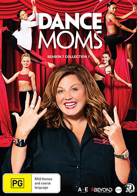 Dance Moms Season 7 : Collection 1 (DVD, 3-Disc Set) NEW
