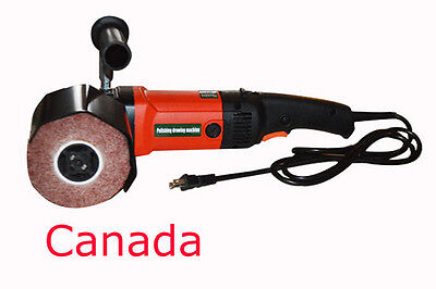 110V Electric Metal Burnishing Polishing Machine/Polisher
