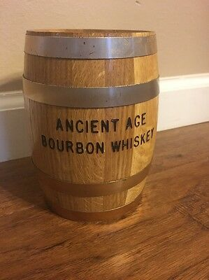 Ancient Age Bourbon Whiskey ' VINTAGE BARREL BANK ' Kentucky Bourbon DISTILLERY