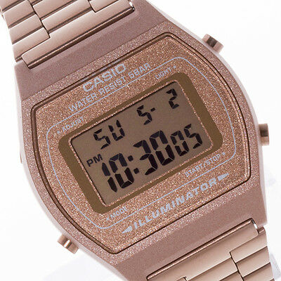 CASIO Vintage Retro Rose Gold B640WC-5A B640WC-5A Free Ship !