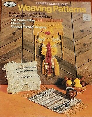 Vintage Weaving Patterns , Desert Moonlight weaving world