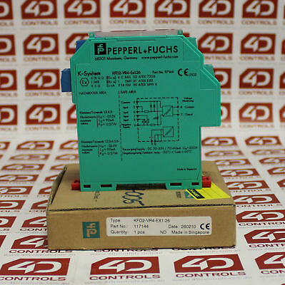 Pepperl and Fuchs KFD2-VR4-Ex1 Voltage Repeater - New Surplus Open