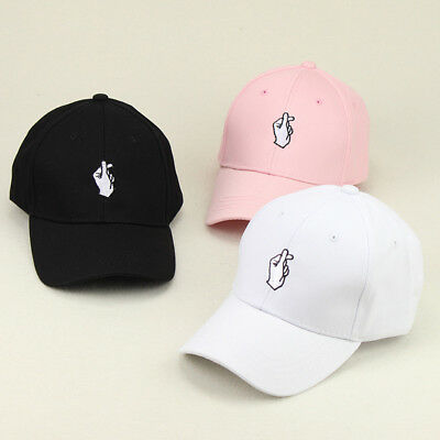 Finger Heart Dad Hat Baseball Cap Love Korean KPOP For Men & Women USA Seller