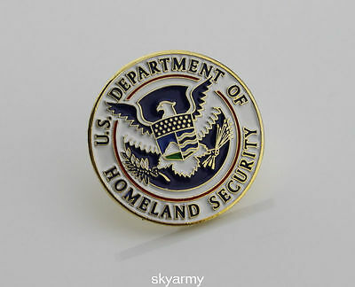 US Department of Homeland Security DHS Lapel Hat Pin