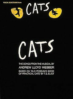 Vocal Selections from Cats - NEW - 9780881884470 by Lloyd Webber, Andrew/ Eliot,