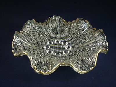 Fluted Glass Dish