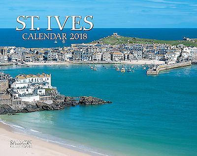 St Ives 2018 Office or Home Wall Calendar - Salmon Calendars & Year Planners