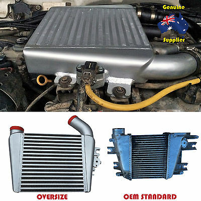 New Oversize Top Mount Intercooler For Nissan Patrol ZD30 3.0L Direct Injection