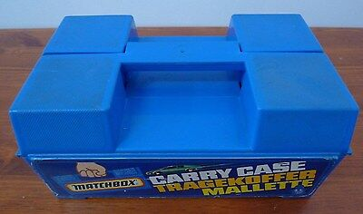 Matchbox Carry Case,1981,Lesney,Made in England,Tragekoffer Mallette,Plastic.