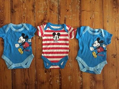 marks and spencer 3 X Disney Vests Age - Up To 1 Month