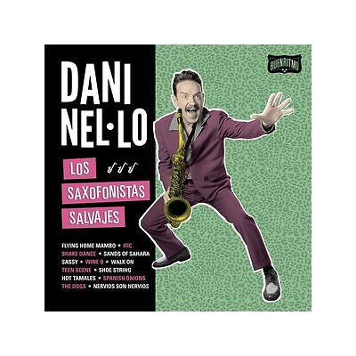 LP - Dani Nel·lo - Los Saxofonistas Salvajes - Rockabilly, Swing, Jazz, Spain