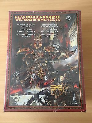 Warhammer Warriors Of Chaos Army Battalion *Sealed* OOP - Fast Post