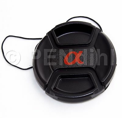 55mm Centre Pinch Lens Cap for Sony Alpha - Yorkshire Supplied