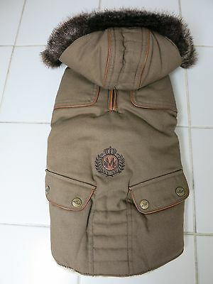 manteau pour chien MILK AND PEPPER NEUF