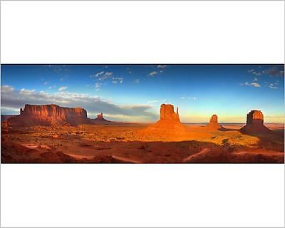 25x20cm Photo-A scenic panorama of Monument Valley, Arizona, USA-12473867-8105