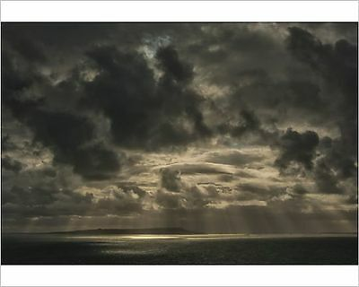 25x20cm Photo-Storm clouds at Kimmeridge-12479183-8105