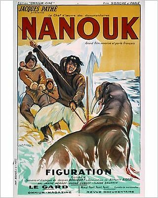 25x20cm Photo-Poster for Robert Flaherty's Nanook of the Nort-4172399-8105