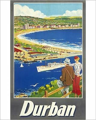 25x20cm Photo-Poster advertising Durban, South Africa-4430999-8105