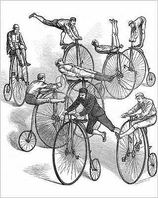 25x20cm Photo-A Selection of Ways to Ride a 'Penny Farthing&#-4381951-8105