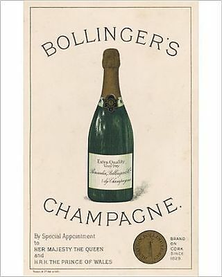 25x20cm Photo-BOLLINGERS CHAMPAGNE-4336767-8105