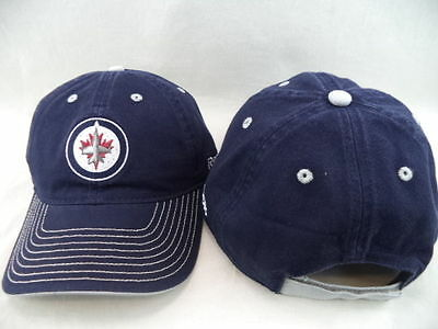 NHL Winnipeg Jets Einstellbar OSFA Eis Hockey Kappe Hut