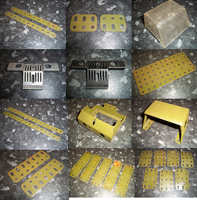 Meccano Army Parts Listing 1