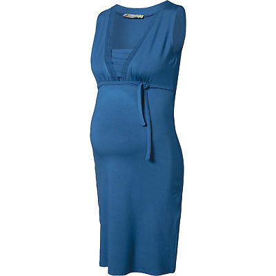 Neu Queen mum Stillkleid blau 6053732