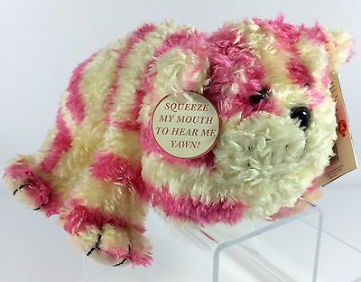"""1999 Bagpuss the Cat - 13"""" Long BAGPUSS - Yawning Plush Toy WITH TAGS"""
