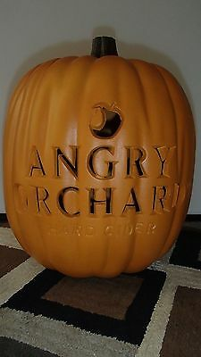 Angry Orchard Hard Cider Hollow Pumpkin  Decoration