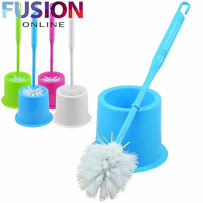 Bathroom Toilet Cleaning Brush And Holder Free Standing Set