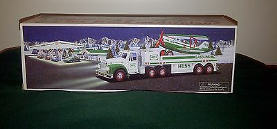 Hess Toy Truck and Airplane 2002 Edition - NEW IN BOX