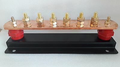 6 Way Standard Earth Bar 800 amp