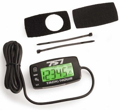 Water Proof Marine Tach Hour Meter RPM Backlit Digital Guage Honda Yamaha